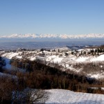 Winter on the Langhe hills