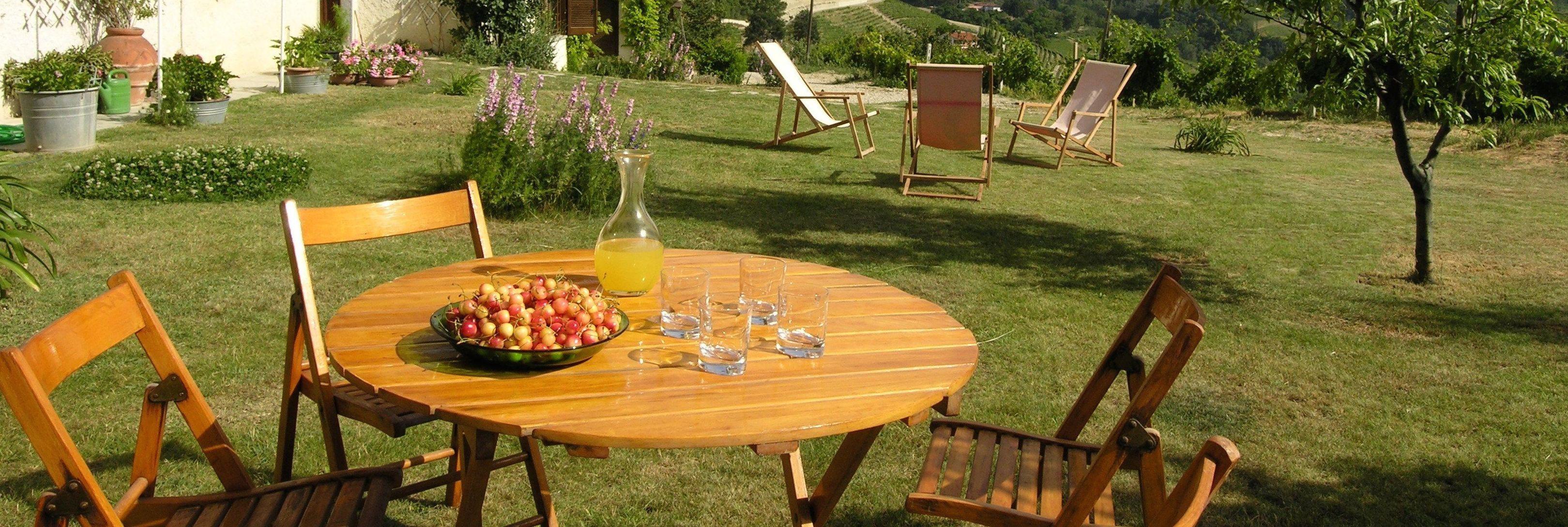 Cascina Bricchetto Garden