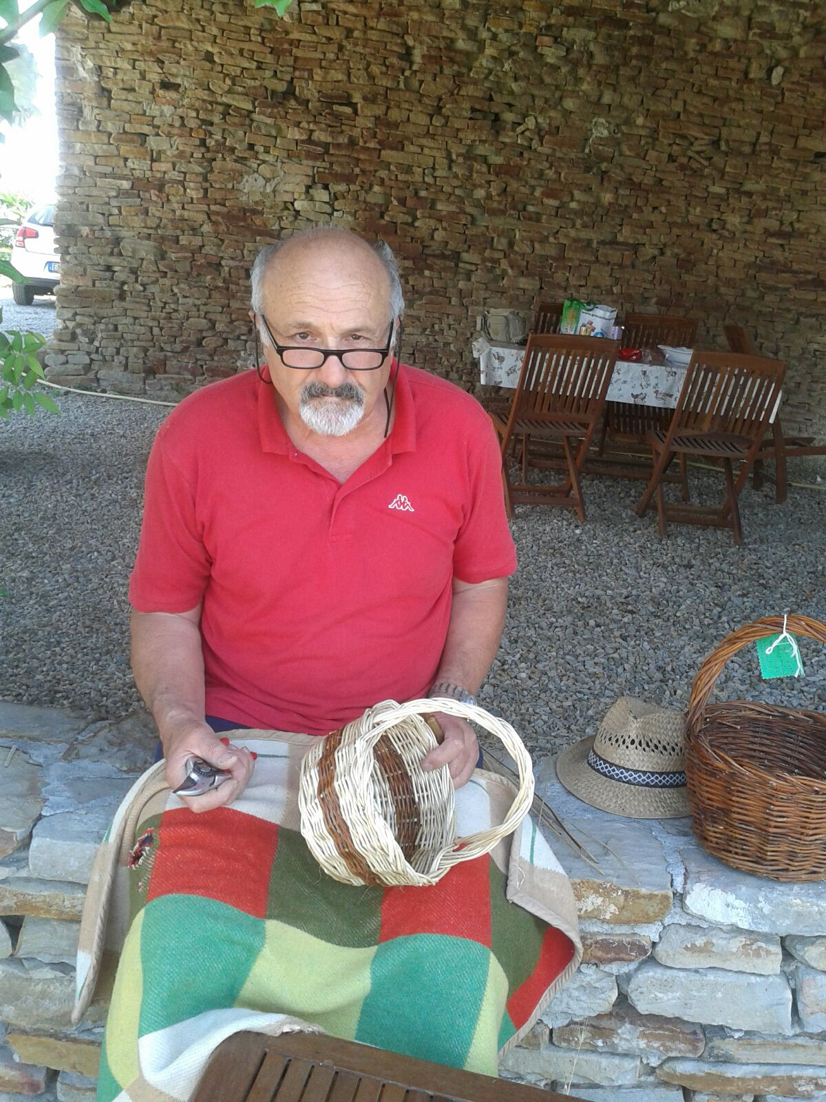 The Langhe baskets maker