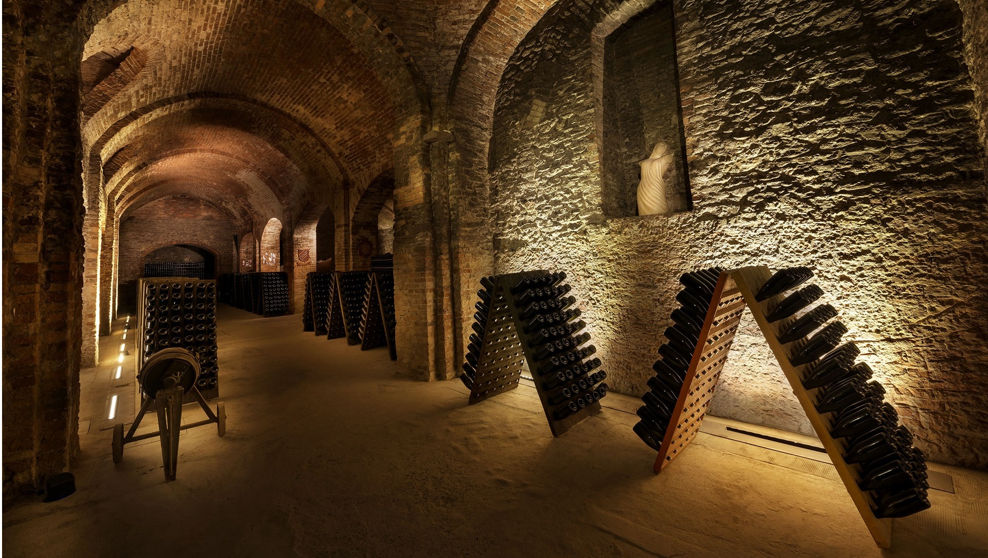 Cathedrals of wine